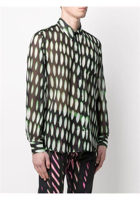 PRINTED SHIRT  DRIES VAN NOTEN | Shirts | CORBINO2001GREY