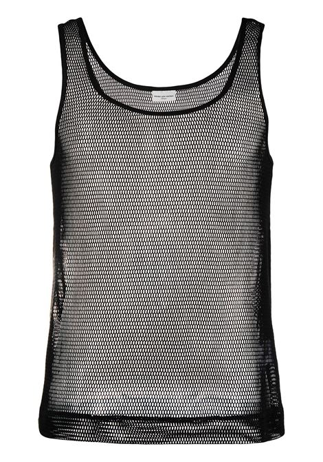 NET COTTON TANK TOP DRIES VAN NOTEN | T-shirts | HALK2616BLACK