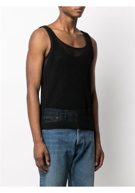 NET COTTON TANK TOP DRIES VAN NOTEN | T-shirts | HALK2616BLACK