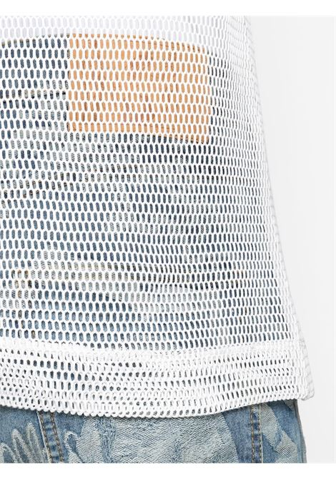 NET COTTON TANK TOP DRIES VAN NOTEN | T-shirts | HALK2616WHITE