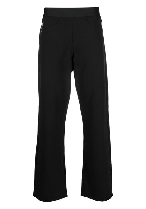 Dries Van Noten straight fit track pants man black DRIES VAN NOTEN | Trousers | HASKOS2613BLACK
