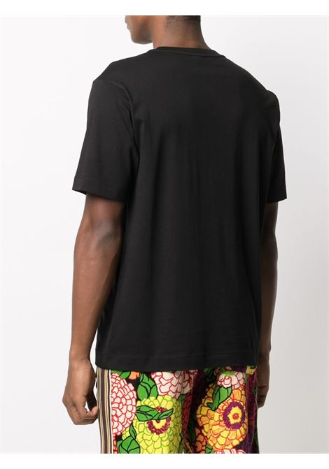 Dries Van Noten heeb t-shirt uomo DRIES VAN NOTEN | T-shirt | HEEB2600BLACK