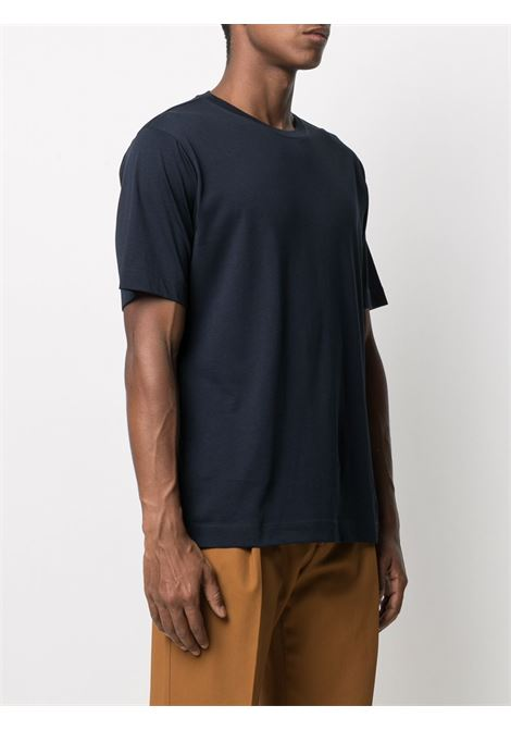Dries Van Noten t-shirt basic uomo DRIES VAN NOTEN | T-shirt | HEEB2600NAVY