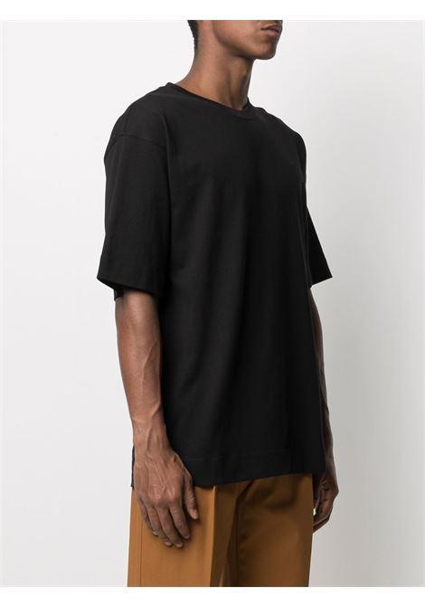 T-Shirt Oversize Uomo Nero Cotone DRIES VAN NOTEN | T-shirt | HELI2603BLACK