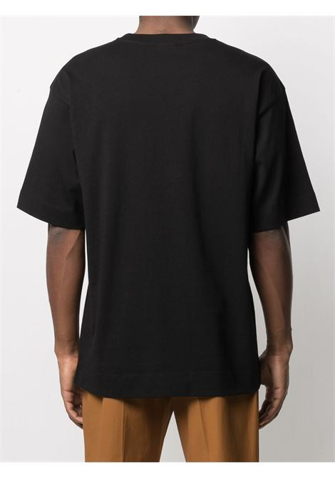 Dries Van Noten t-shirt oversize uomo DRIES VAN NOTEN | T-shirt | HELI2603BLACK