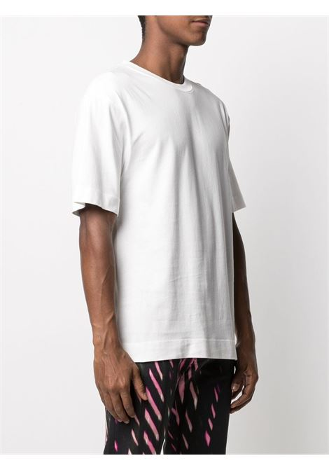 Dries Van Noten heli t-shirt uomo DRIES VAN NOTEN | T-shirt | HELI2603OFFWHITE