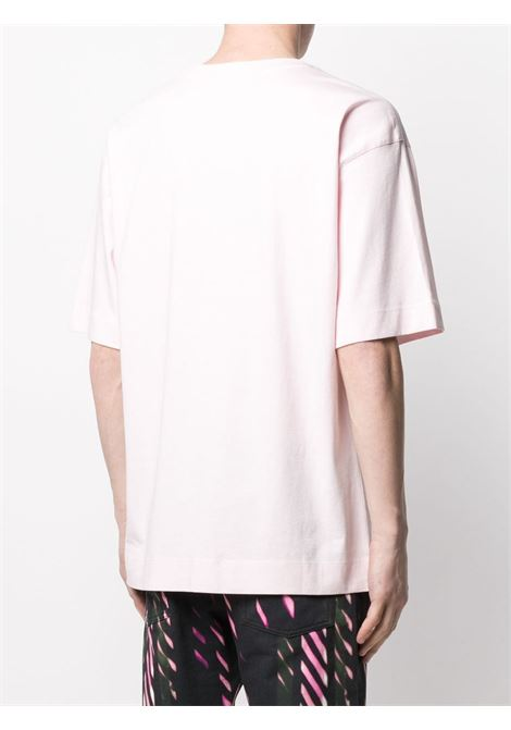 Dries Van Noten t-shirt oversize uomo DRIES VAN NOTEN | T-shirt | HELI2603PINK