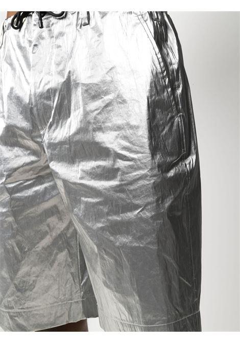 Dries Van Noten bermuda metalizzati uomo argento DRIES VAN NOTEN | Bermuda | PENNY2158SILVER