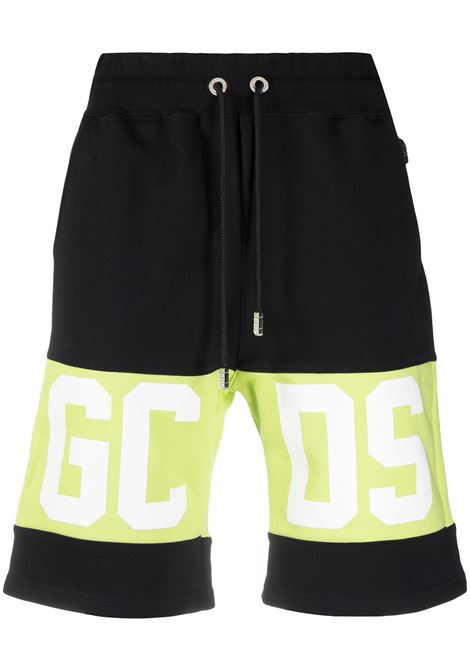 Logo shorts black man cotton GCDS | Shorts | CC94M03100451