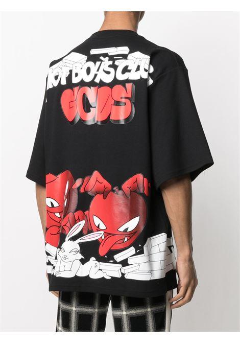 LOGO T-SHIRT GCDS | T-shirts | SS21M02007802
