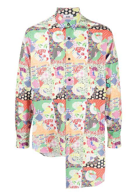 Gcds camicia stampata uomo GCDS | Camicie | SS21M020105MX