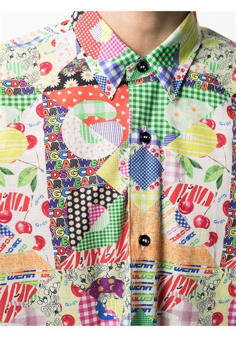 PRINTED SHIRT  GCDS | Shirts | SS21M020105MX