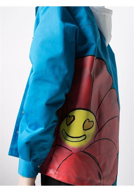 Gcds print jacket man blue GCDS | Jackets | SS21M04010758