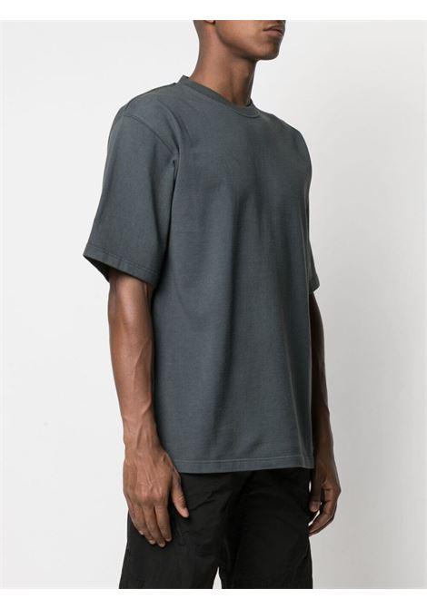 Gr10k cotton t-shirt man anthracite grey GR10K | T-shirts | GR015ANTRACITE