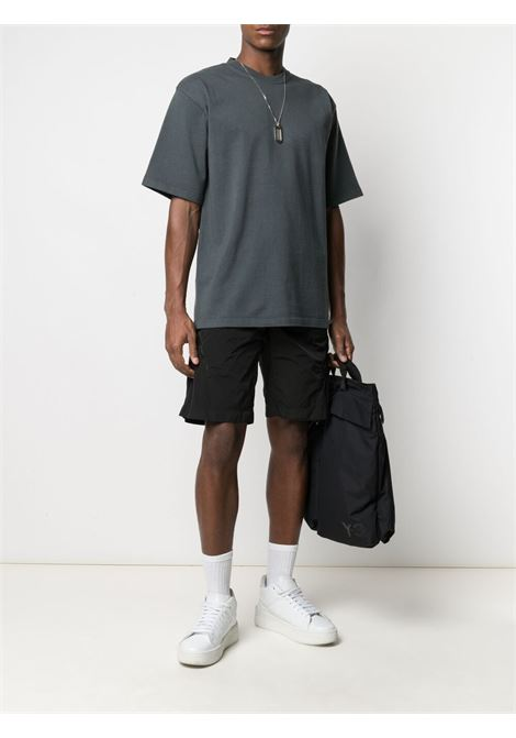 Gr10k t-shirt in cotone uomo grigio antracite GR10K | T-shirt | GR015ANTRACITE