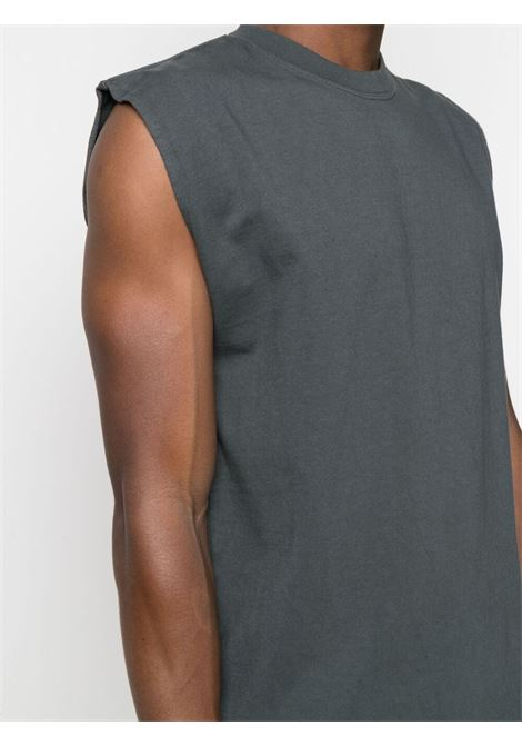 Gr10k sleeveless top man anthracite grey GR10K | T-shirts | GR017ANTRACITE