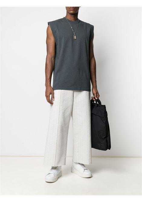 Gr10k sleeveless top man anthracite grey GR10K   T-shirts   GR017ANTRACITE