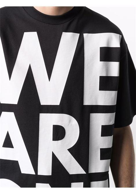 Printed t-shirt man black cotton HONEY FUCKING DIJON | T-shirts | HFD03T008BLACK