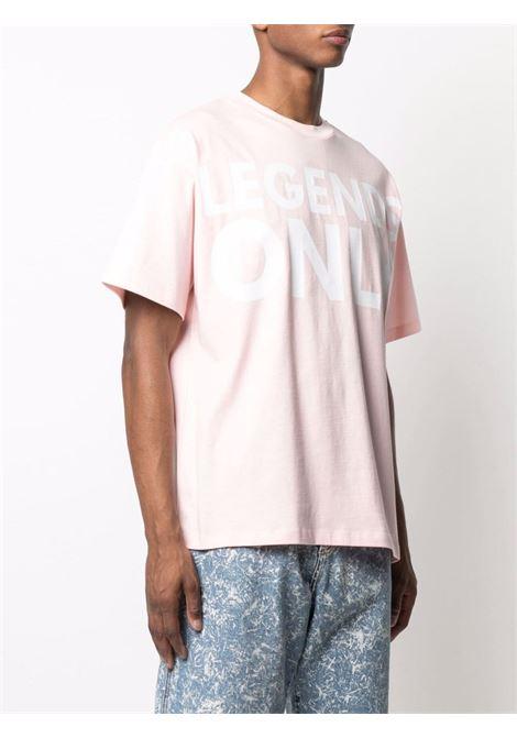 T-shirt con stampa uomo rosa cotone HONEY FUCKING DIJON | T-shirt | HFD03T009PINK