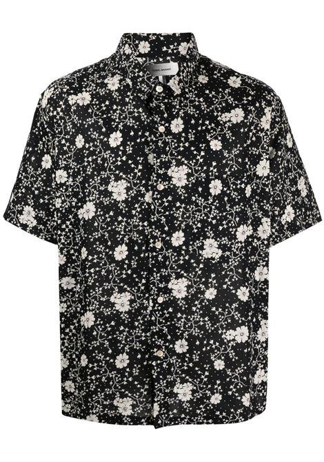 Isabel Marant camicia con stampa uomo ISABEL MARANT | Camicie | CH0255-21P059H01BK