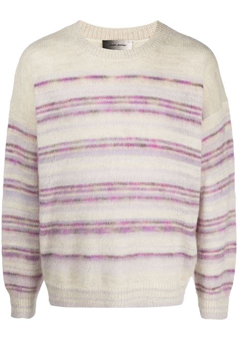Isabel Marant pullover a righe uomo ISABEL MARANT | Maglieria | PU1566-21P051H86LC
