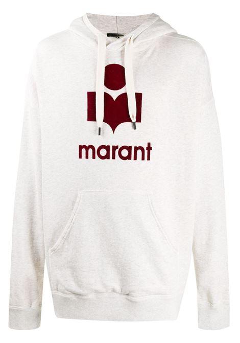 Isabel Marant felpa con logo uomo ISABEL MARANT | Felpe | SW0055-21P029H23EC
