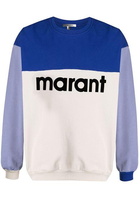 Isabel Marant felpa color-block uomo ISABEL MARANT   Felpe   SW0279-21P033H30BU