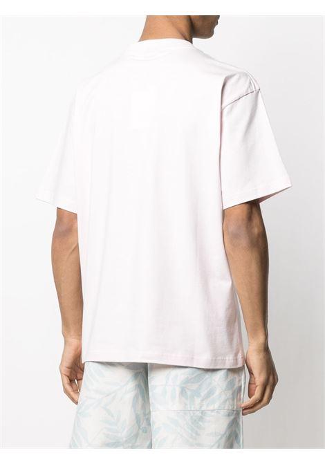 Jacquemus t-shirt con stampa uomo JACQUEMUS | T-shirt | 215JS10PINK