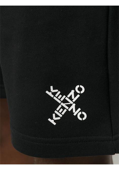Kenzo bermuda con logo uomo KENZO | Bermuda | FA65PA7204MS99