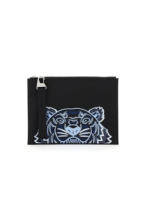 EMBROIDERED LOGO CLUTCH KENZO | Wallets | FA65PM302F2099F