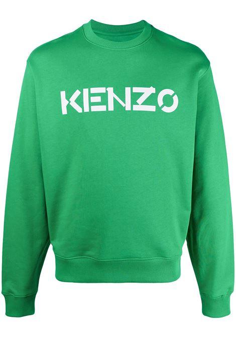 Kenzo girocollo con logo uomo KENZO | Felpe | FA65SW0004MD56