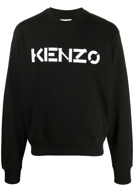 Kenzo felpa con logo uomo KENZO | Felpe | FA65SW0004MD99