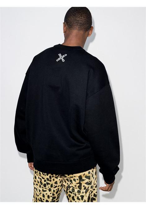 Kenzo felpa con logo uomo KENZO | Felpe | FA65SW5214MS99