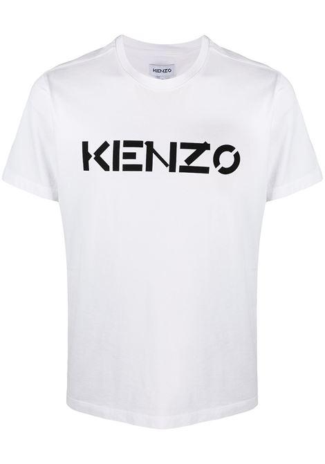 Kenzo t-shirt logo uomo KENZO | T-shirt | FA65TS0004SJ01B