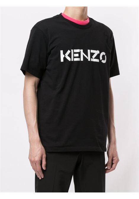 Kenzo t-shirt logo uomo KENZO | T-shirt | FA65TS0004SJ99