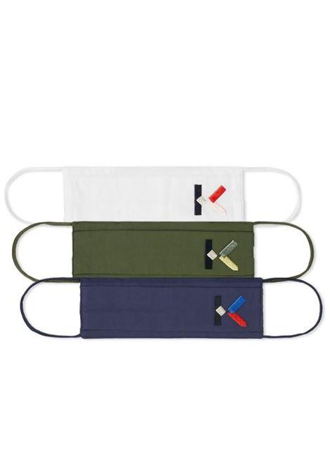 Kenzo set tre mascherine uomo KENZO | Mascherine | FA68MK051SCAMUA