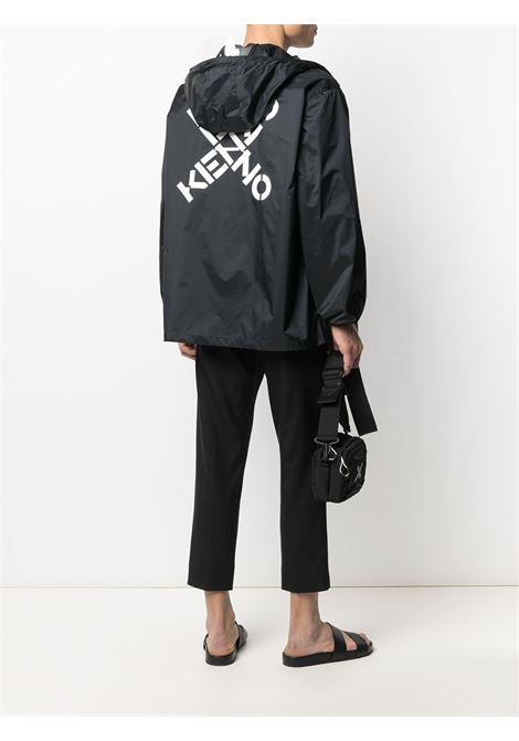 Kenzo giacca con logo uomo KENZO | Giacche | FB55BL5601NJ99