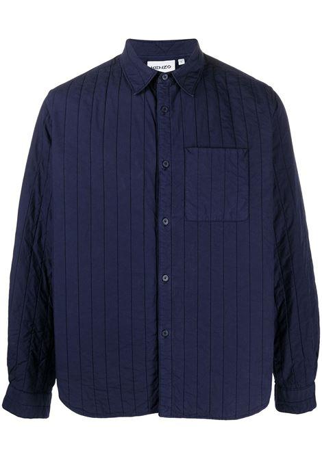 CHEETAH QUILTED SHIRT KENZO | Shirts | FB55CH4101LA76