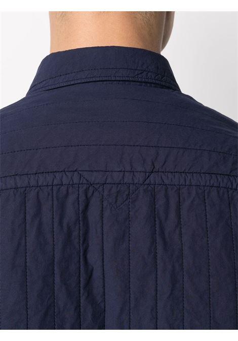 Kenzo camicia trapuntata uomo KENZO | Camicie | FB55CH4101LA76