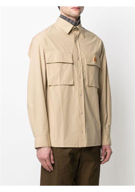 Kenzo camicia tiger crest uomo KENZO | Camicie | FB55CH5039SA11