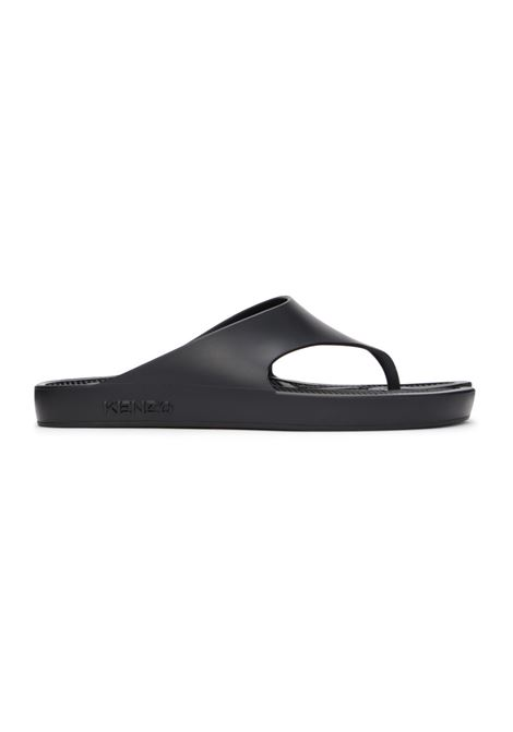 Kenzo K beach flip flops man black KENZO | Sandals | FB55MU100P6299