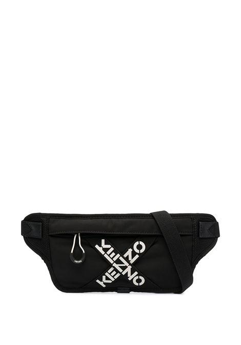 logo belt bag man black KENZO | Belt Bag | FB55SA225F2199