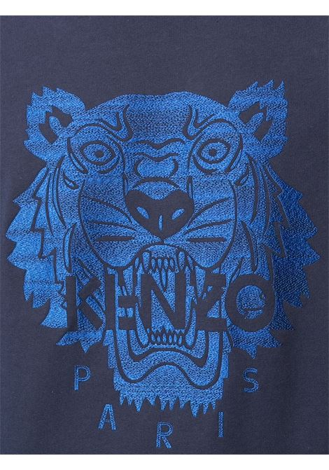 Kenzo felpa con ricamo uomo KENZO | Felpe | FB55SW1174XF76