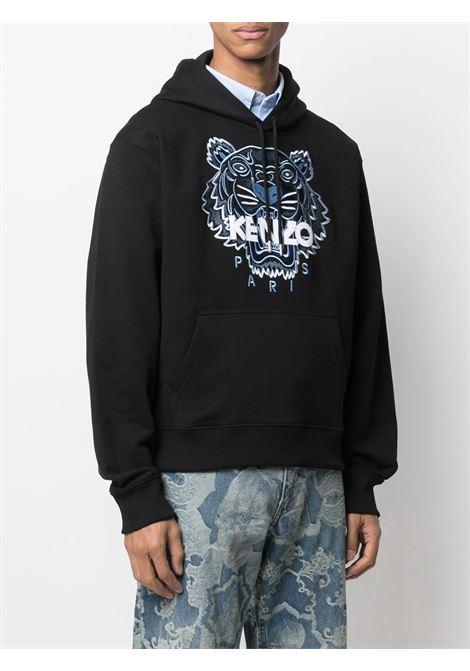 Kenzo felpa con cappuccio logo tigre uomo KENZO | Felpe | FB55SW3104XA99