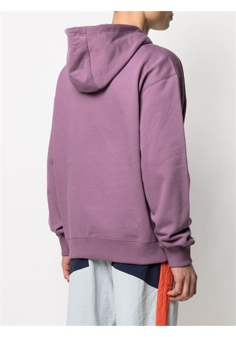 Kenzo logo sweatshirt man violet KENZO | Sweatshirts | FB55SW5394MO82