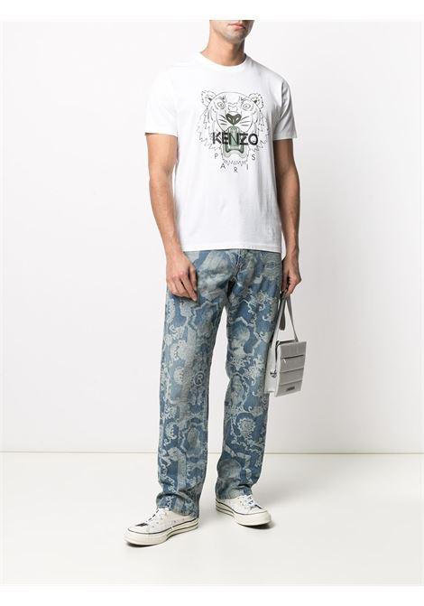Kenzo t-shirt tiger uomo KENZO | T-shirt | FB55TS0204YA01B
