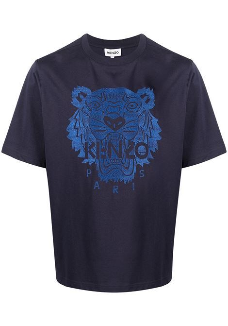 Kenzo t-shirt logo tiger uomo KENZO | T-shirt | FB55TS0694YF76