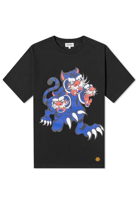 Kenzo t-shirt stampata uomo KENZO | T-shirt | FB55TS0714SJ99