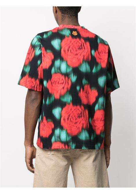 Kenzo t-shirt stampata uomo KENZO | T-shirt | FB55TS0824SI22