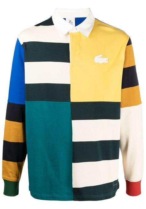 Lacoste Live polo a maniche lunghe uomo multicolore LACOSTE LIVE | Polo | DH08335HA
